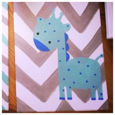 Canvas art for baby decor