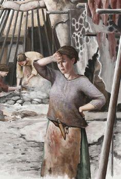 on deviantART - Hard Labour (Bronze Age) European History, Ancient History, Medieval, Hunter Gatherer, Minoan, Bronze, Iron Age, Couples In Love, Roman Empire