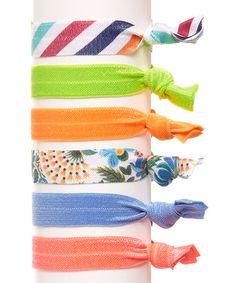 Loving this Trendsetter Hair Tie Set on #zulily! #zulilyfinds
