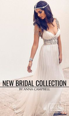 Anna Campbell Gossamer 2016 Bridal Collection ❤Anna Campbell's 2016 Gossamer Bridal Collection it is enchanting, desirable dresses. See more: http://www.weddingforward.com/anna-campbell-gossamer-bridal-collection/ #wedding #dresses Photo: Anna Cambell http://www.annacampbell.com.au/