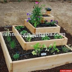 flowers in a raised bed - Google Search