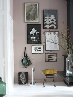 light peach blossom by little greene paint Pink Paint Colors, Interior Paint Colors, Little Greene Paint, Bohemian Interior Design, Pink Room, Pink Walls, Room Paint, Interiores Design, Interior Inspiration
