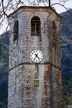 This is my Greece   Bell tower in Tsepelovo village in Zagori region, Epirus