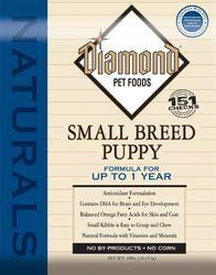 Diamond Naturals Small Breed Puppy Food - 6 lb
