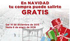En Navidad, tu compra puede salir gratis - http://www.dream-alcala.com/en-navidad-tu-compra-puede-salirte-gratis/