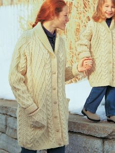 Shawl-Collar Jacket | Yarn | Free Knitting Patterns | Crochet Patterns | Yarnspirations
