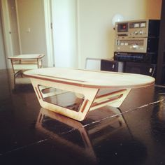 Laser cut table...Cool, simple design