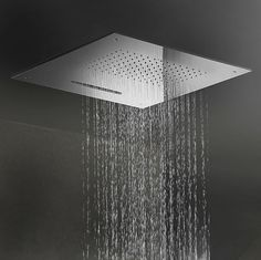 Recessed Rain Shower Head. Discover all the information about product Recessed ceiling shower head  square waterfall rain NS 506 GABOLI FLLI and find where you can buy it VIEW IN GALLERY Coral Shaped Rain Shower Head Bathroom Decoration