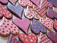 hearts cooki