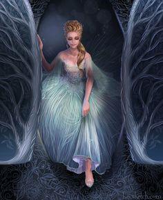 Cinderella Arrives by becsketch on DeviantArt – Fairy Tale Anime Disney Princess Art, Disney Fan Art, Disney Love, Disney Magic, Disney And Dreamworks, Disney Pixar, Disney Characters, Hans Frozen, Cinderella Disney