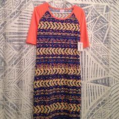 NWT Julia Dress M Lularoe Gorgeous soft new Julia dress in size medium from Lularoe. LuLaRoe Dresses Midi