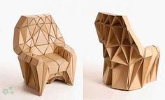 muebles reciclados de carton 22