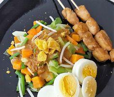 Gado Gado met kip saté | Makkelijk Afvallen