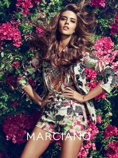 2014 campaign from Guess by Marciano taps Clara Alonso and Heather Depriest for a set of sun-soaked images taken by Hunter & Gatti. The creative duo captures the pair in rich and bold prints, lace tops and suit jackets styled by Martina Nilsson. Hair stylist Paco Garrigues and makeup artist Francesca Tolot work on beauty for the shoot. Also, make sure to check out Hunter & Gatti's recent work for Kocca with Eniko Mihalik.