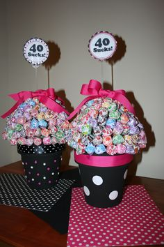 For my friend's 40th.  She likes polka dots :-)