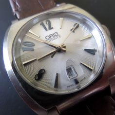 ORIS 'FRANK SINATRA' Automatic - one of the rarest Oris watches around, original box & paperwork, Guaranteed Genuine, unisex Swiss watch by EWcoLondon on Etsy Alternative Power Sources, Solar Watch, Mechanical Watch, Unique Gifts, At Least, Swiss Watch, Watches, This Or That Questions, Christmas