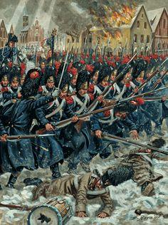 Granatieri della guardia imperiale francese - Giuseppe Rava