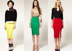 skirts 2015 fall - Google Search