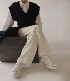 Aesthetic Fashion, Look Fashion, Hijab Fashion, Aesthetic Clothes, Korean Fashion, Fashion Outfits, Womens Fashion, Fall Fashion, Korean Outfits