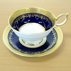 Aynsley porcelain -- I have ten Aynsley. These Aynsley cups retail anywhere from $110.00 to $120.00 a piece