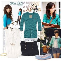 New Girl, created by valeria-87 on Polyvore