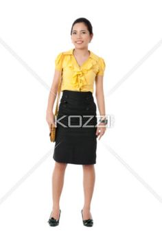 businesswoman in formal clothing. - Portrait image of a attractive business female in formal clothing. Model: Novaliza T. Garcia