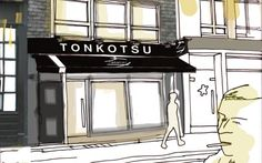 Owners of Tsuru sushi are almost ready to open the doors on their new ramen bar in Soho. Book Restaurant, Ramen Restaurant, Restaurant Recipes, Asian Restaurants, London Restaurants, Great Restaurants, Real Ramen, Ramen Bar, Tonkotsu Ramen