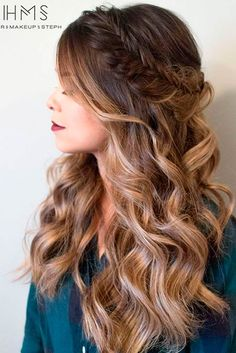 Romantic Messy Braided Hairstyles picture 1