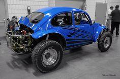 Vw Baka bug blue