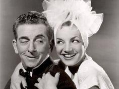 1942 Edward Everett Horton & Carmen Miranda (Springtime in the Rockies)
