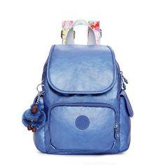 Ravier Extra Small Metallic Backpack - Metallic Scuba Diver Blue