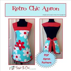 I love aprons. This would be fab since it slips over your head so easily!