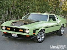 1971 Mustang Mach 1..don't usually like this type but this ones pretty sweet