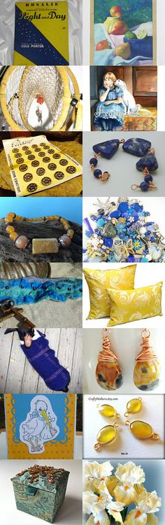 NIGHT AND DAY...............................Gratitude Treasury by Pat Peters on Etsy--Pinned+with+TreasuryPin.com