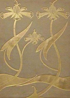 "Sir Thomas Malory ""Le Morte d'Arthur. J. M. Dent, 1893-1894 / Cover Design by Aubrey Beardsley"