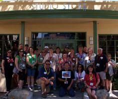 PNW Mouse Treks 2013 Walt Disney Studios Tour... Group Photo