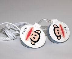 Наушники Angry Birds овальные белые
