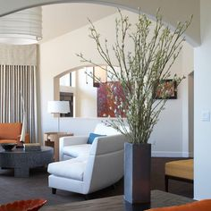 Tall Floor Arrangment. Vase IdeasLiving Room ...