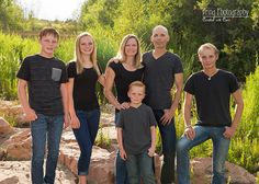 Summer time family portrait in Superior, CO.