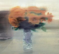 GERHARD RICHTER, ROSEN (ROSES), 1994, OIL ON CANVAS, 18 X 20 IN (46 X 51 CM ), PRIVATE COLLECTION