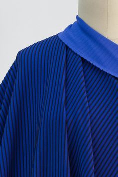Blues Brothers Corded Stripe Ponte Knit
