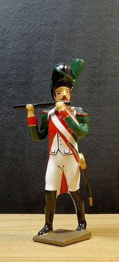 soldat de plomb et figurines de collection - garde municipale paris - 1er régiment