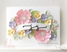 cards byMarleen A Guide To Hypnosis There are many stories about hypnosis and hypnotherapy being dan Card Making Inspiration, Making Ideas, Flower Cards, Paper Flowers, Marianne Design Cards, Banner, Mothers Day Cards, Flower Tutorial, Paper Cards
