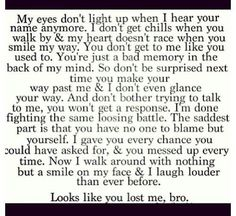 Looks like you lost me bro! Sad Love Quotes, Life Quotes, You Lost Me Quotes, Truth Hurts, It Hurts, Meaningful Quotes, Inspirational Quotes, Affair Quotes, Favorite Quotes