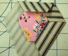 Tutorial on Hickory Nut quilt blocks - Page 2