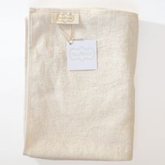 $44.00 Wash Me Tender™ Premium Organic Cotton and silk Solid Terry Head Towel