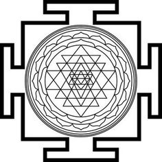 Ancient Symbols, My Memory, Sacred Geometry, Tattoo Designs, Tattoo Ideas, Oriental, Mandala, Etsy, Vintage