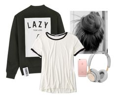 """To lazy to do anything ( plz read description :) xx)"" by aysiaismej ❤ liked on Polyvore featuring Studio Concrete, American Eagle Outfitters and B&O Play"