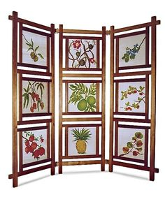 9-Panel Folding Screen