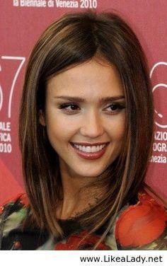#balayage #lob #haircut #brunette